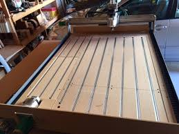 used cnc router table adding t tracks to the cnc router table cnc router tips and tricks
