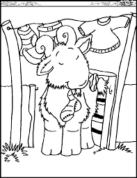 free coloring pages goats goat coloring page animals town free goat color sheet