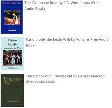 30 websites to free audio books