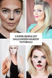Diy Makeup Halloween by Halloween Makeup Tutorials
