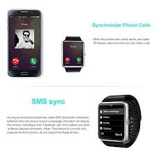 smart android yarrashop bluetooth smartwatch with for android smartphones