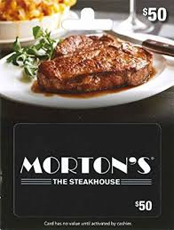 ruth chris gift cards morton s 50 gift cards