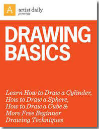 26 free beginner drawing techniques for basic shapes