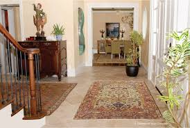Front Door Carpet by Decorating With Antique Rugs Pt 1 Claremont Rug Company