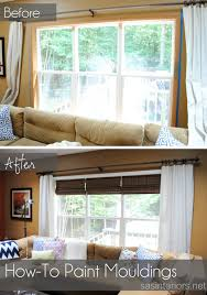 Painting Wood Windows White Inspiration Wood To White Helpful Tips On Painting Wood Moulding To A Fresh