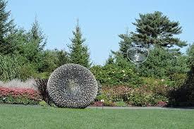 Boothbay Botanical Gardens George Sherwood Sculpture Picture Of Coastal Maine Botanical