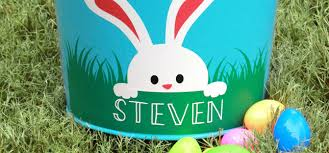 personalized easter personalized easter basket