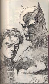 best batman and robin sketch artist show off comic vine