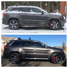 jeep grand cherokee kayak rack roof racks are ok on the srt too cherokee srt8 forum