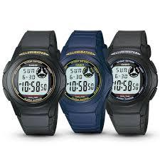 Jam Tangan Casio jam tangan casio digital f 200 w series elevenia