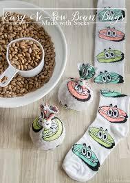 easy no sew bean bags