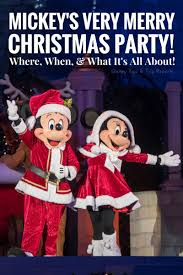 mickey u0027s very merry christmas party tickets on sale now