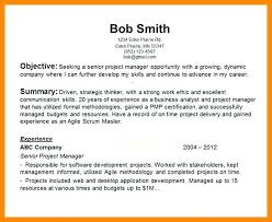 resume summary statement exles management goals career goals for resume