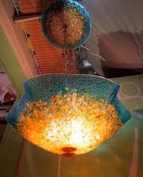 Glass Blown Chandelier Pendant Lights Blown Glass Pendant Lights 7 Blown Glass