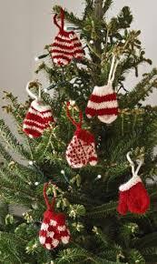 mini mitten ornament set of six fair trade handmade