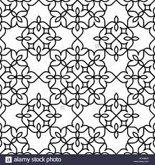 black and white moroccan pattern stock vector art u0026 illustration
