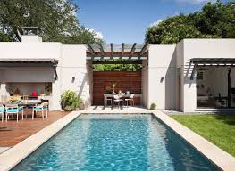 backyard architecture backyard oasis in austin with fabulous outdoor living spaces