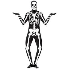costume skin suit skeleton