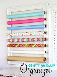 cheap gift wrap 50 brilliant easy cheap storage ideas lots of tips and tricks