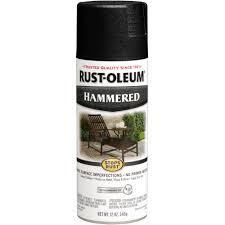 rust oleum stops rust black hammered spray paint 12 oz walmart com