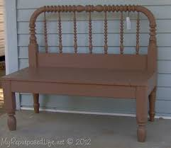 Bench Made From Old Dresser 50 Headboard Bench Ideas My Repurposed Life