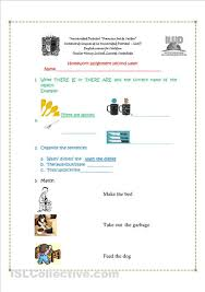 english exercises for kidsthere is there are there is are