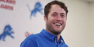 it u0027s back to work for lions qb matthew stafford after signing mega