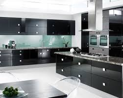 Black Kitchens Designs by Kitchen Backsplash Ideas For Dark Cabinets Is One Of The Best Idea