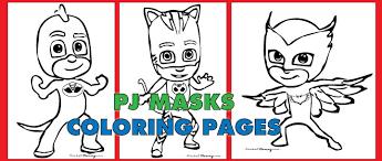 free pdf download pj masks coloring pages catboy gekko