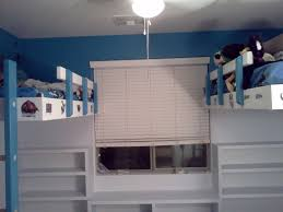 Suspended Loft Bed From Ceiling by Partially Freestanding Loft Bed Under 50 7 Steps With Pictures