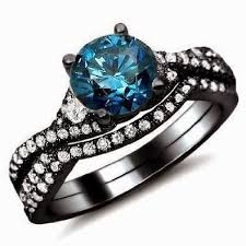 Blue Wedding Rings by 133 Best Engagement Rings Images On Pinterest Diamond Rings