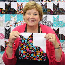make a pins and paws cat quilt with jenny doan cat quilts 2