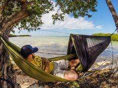 hang out at the campsite with the eno doublenest hammock the