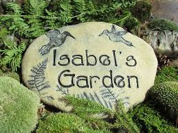 181 best inspirational poem stones for the garden images on