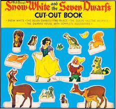 snow white dwarfs cut book walt disney disney