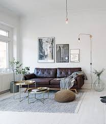 Modern Interior Design Living Room Black And White Best 20 Dark Leather Couches Ideas On Pinterest Leather Couch