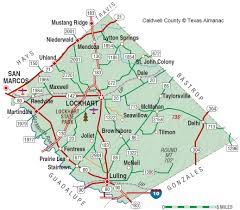Texas State Parks Map Caldwell County The Handbook Of Texas Online Texas State