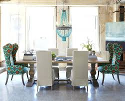 Black And White Upholstered Chair Design Ideas Floral Dining Room Chairs Room Decor Gray Ideas With Chandelier