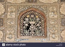 mirror ornaments on the of victory jai mandir fort