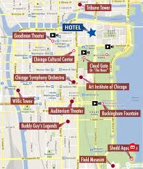 Map Of Blue Line Chicago by Chicago Maps Top Tourist Attractions Free Printable City Mapping