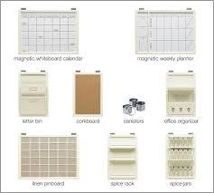 Wall Calendar Organizer System Pottery Barn Daily System Roselawnlutheran
