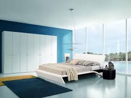 Navy Blue Bedroom by Bedroom Good Looking Picture Of Blue And Cream Bedroom Decoration