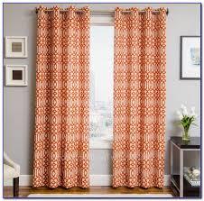 Burnt Orange Curtains Burnt Orange Curtains Canada Curtain Home Decorating Ideas