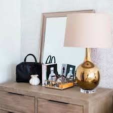 Ls For Bedroom Dresser How To Decorate Your Dresser For A Bedroom Update On The Cheap Lonny