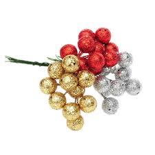 tree baubles sliver gold color hanging balls pendant