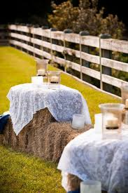 Backyard Country Wedding Ideas 30 Ways To Use Hay Bales At Your Country Wedding Deer Pearl Flowers