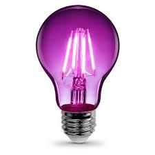purple led light bulbs light bulbs the home depot