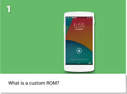 android rom what is an android custom rom