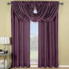amazon window drapes purple soho waterfall window treatment soho window and curtain