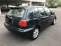 volkswagen golf 1989 1998 volkswagen golf gl with 17 355 miles german cars for sale blog